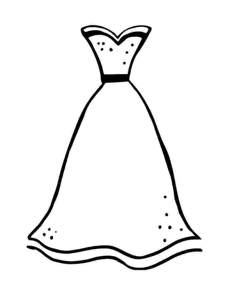 coloring page dress dress coloring pages to download and print for free dress page coloring