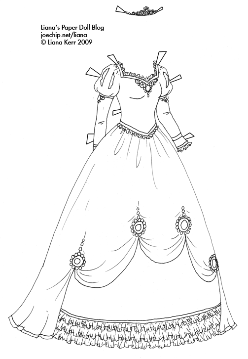 coloring page dress the learning site coloring page dress