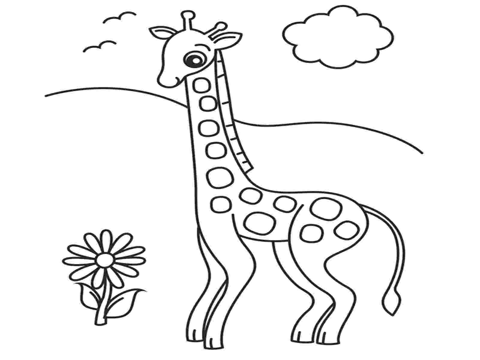 coloring page giraffe free printable giraffe coloring pages for kids coloring giraffe page