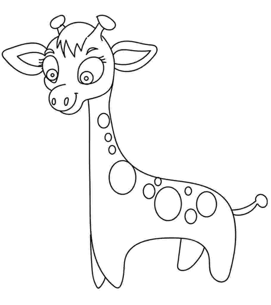 coloring page giraffe giraffe coloring pages animal pictures coloring page giraffe