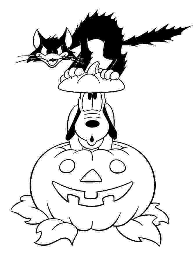 coloring page halloween printable coloring town halloween coloring printable page