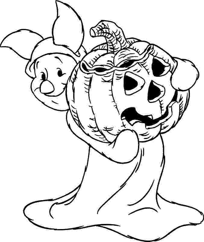 coloring page halloween printable free disney halloween coloring pages lovebugs and postcards halloween coloring printable page