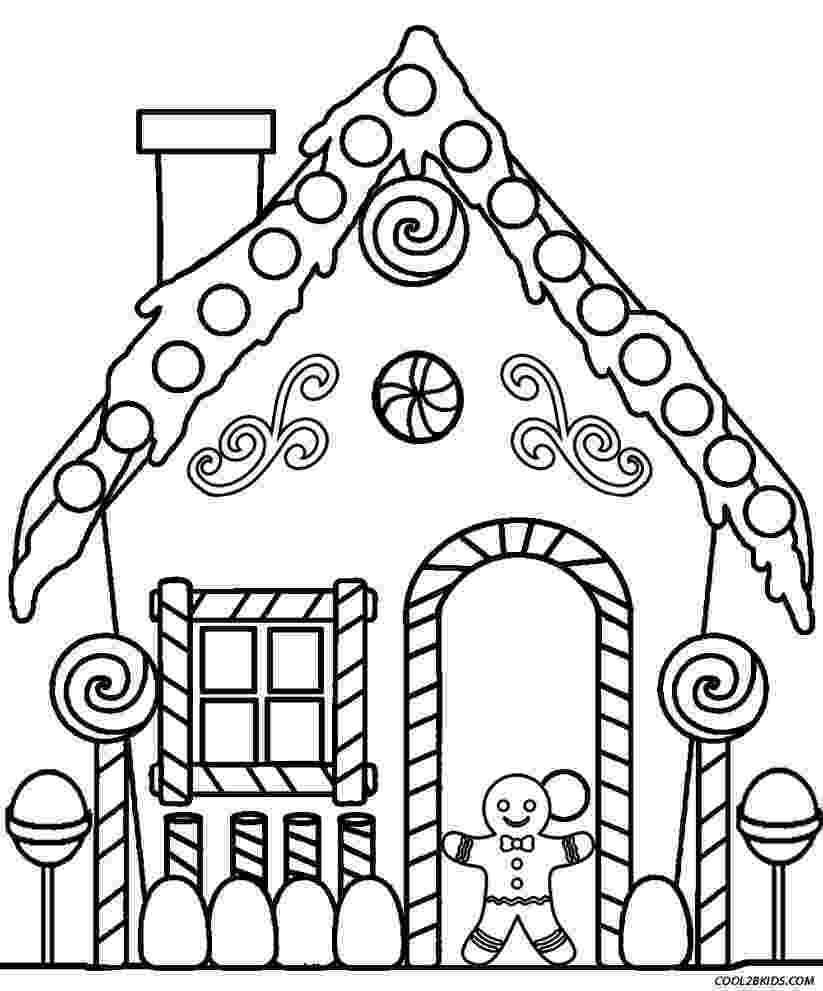 coloring page house gingerbread house coloring pages to download and print for coloring page house