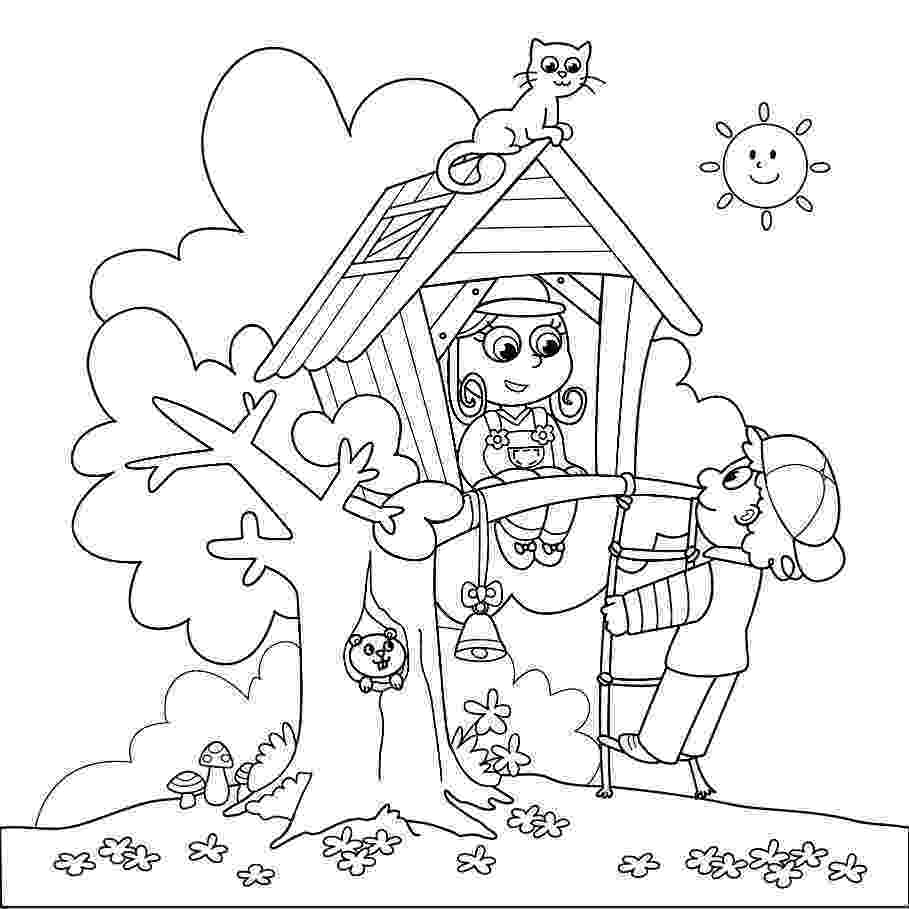 coloring page house printable haunted house coloring pages for kids cool2bkids coloring page house