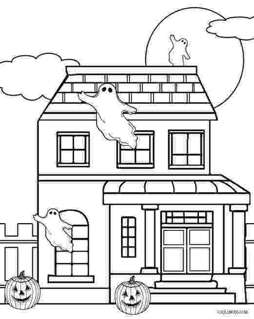 coloring page house scary haunted house coloring pages download and print for free coloring house page 1 1