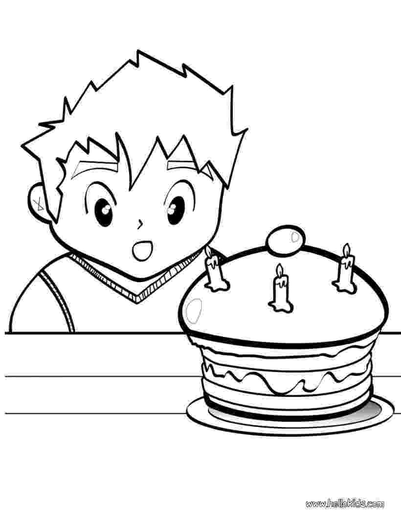 coloring page of a birthday cake birthday cake coloring pages to download and print for free of cake page birthday coloring a