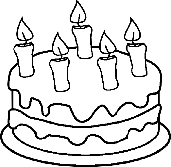 coloring page of a birthday cake free printable birthday cake coloring pages for kids a of cake page coloring birthday