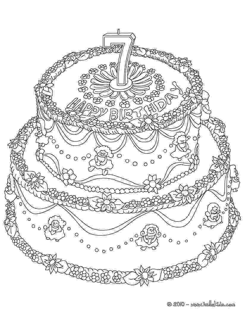 coloring page of a birthday cake middle birthday cake coloring page wecoloringpagecom a birthday of cake page coloring