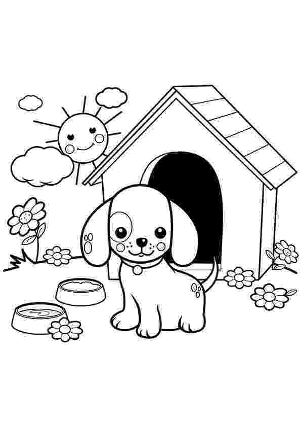 coloring page of a dog dog coloring pages 2018 dr odd of coloring dog a page