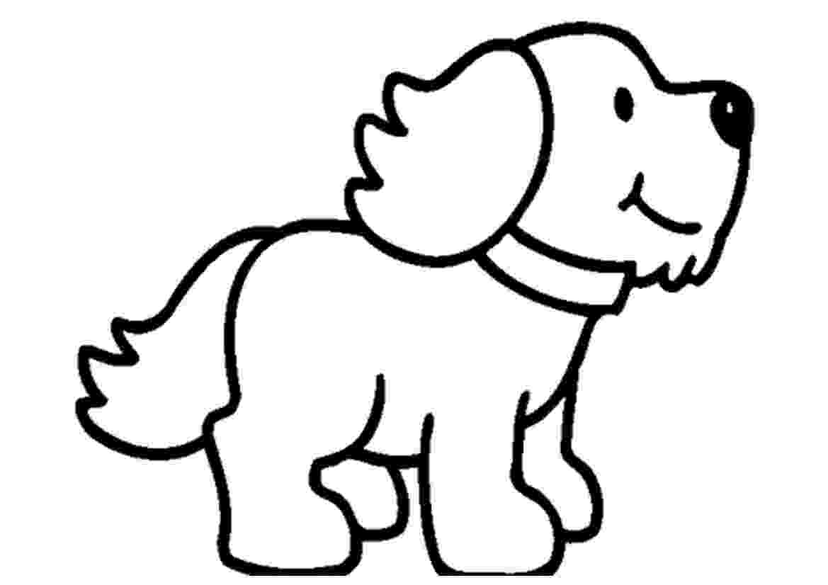 coloring page of a dog free printable puppies coloring pages for kids dog a page of coloring