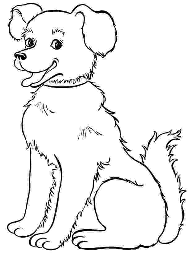 coloring page of a dog printable puppy coloring pages for kids cool2bkids dog of a page coloring