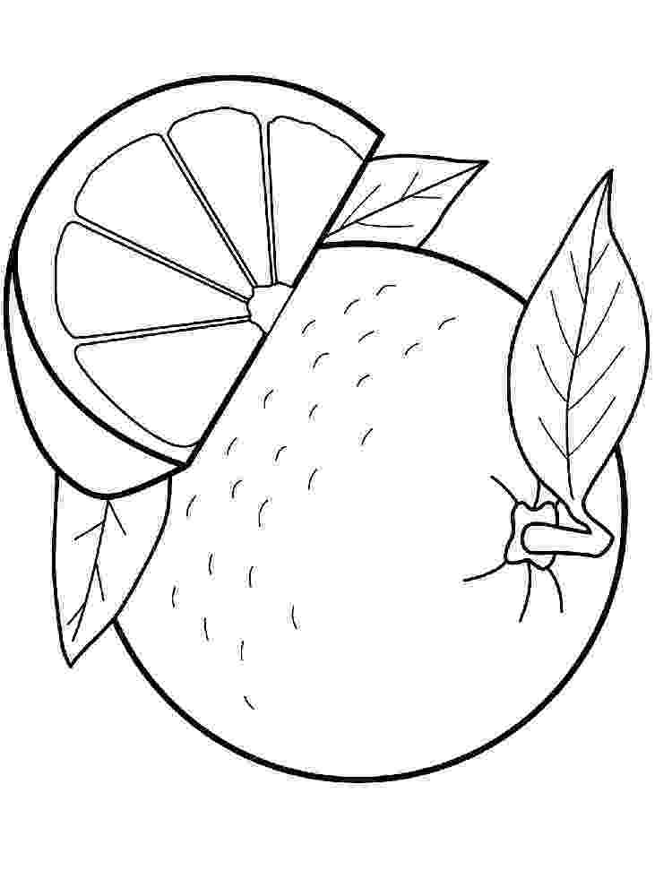 coloring page of a orange orange coloring pages page of orange a coloring