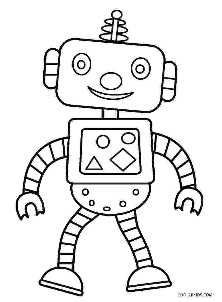 coloring page robot free printable robot coloring pages for kids cool2bkids page coloring robot 1 1