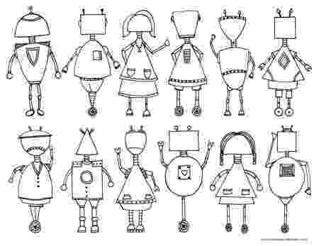 coloring page robot little robots coloring pages download and print for free coloring page robot