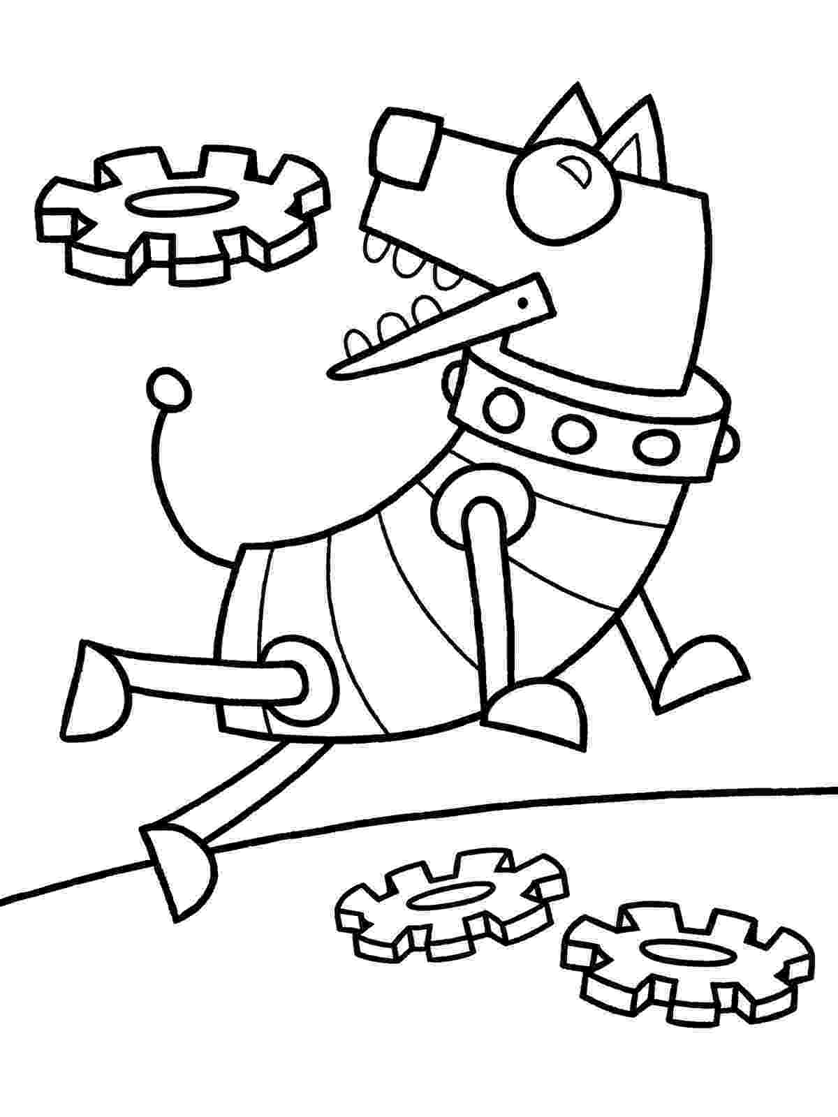 coloring page robot robot coloring page crayon action coloring pages page robot coloring