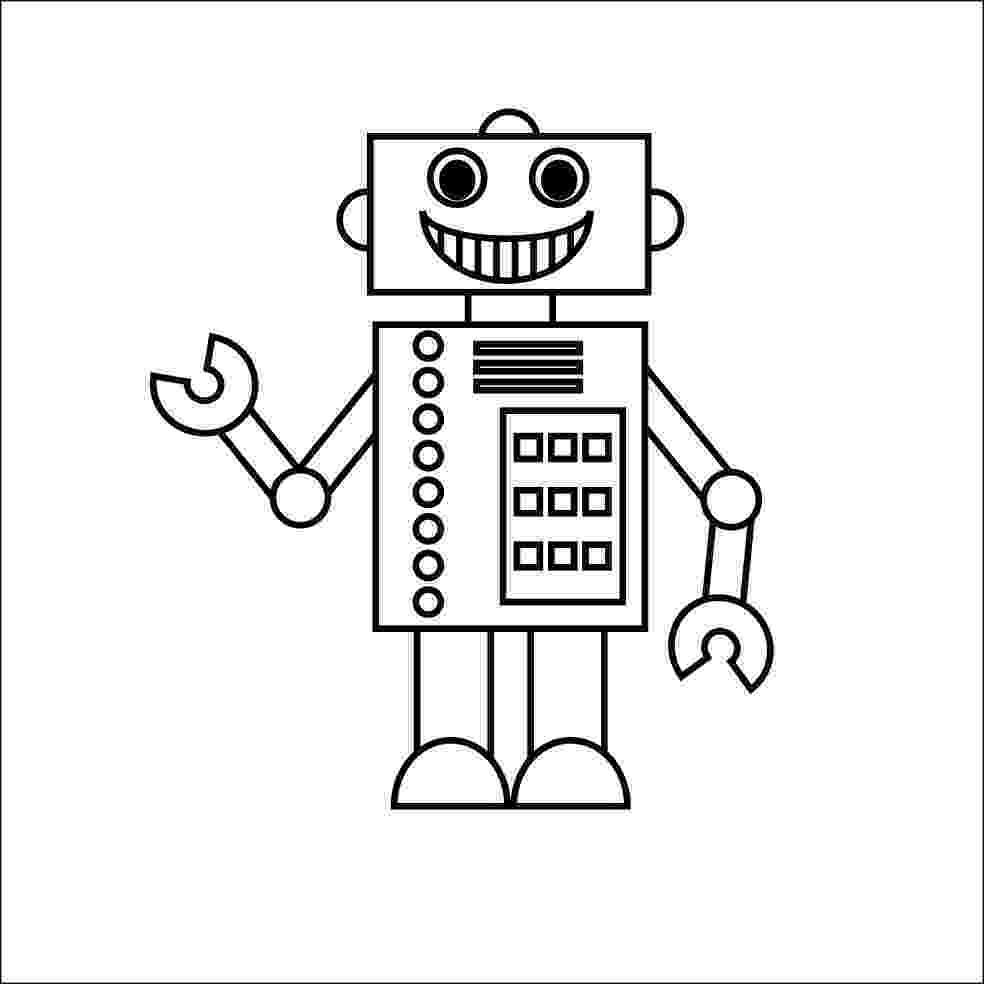 coloring page robot robot coloring pages 360coloringpages page robot coloring