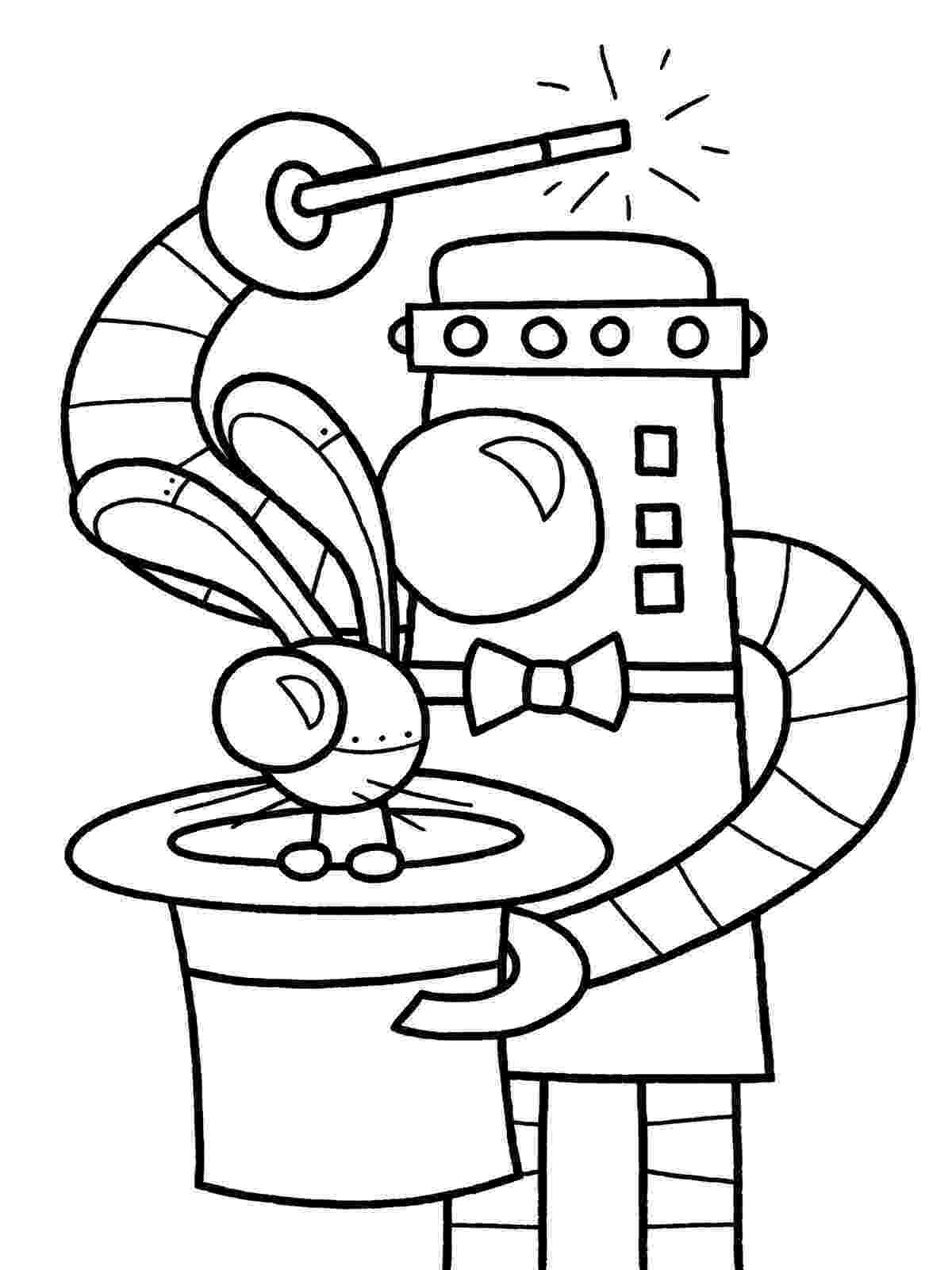 coloring page robot robots coloring pages learn to coloring page robot coloring