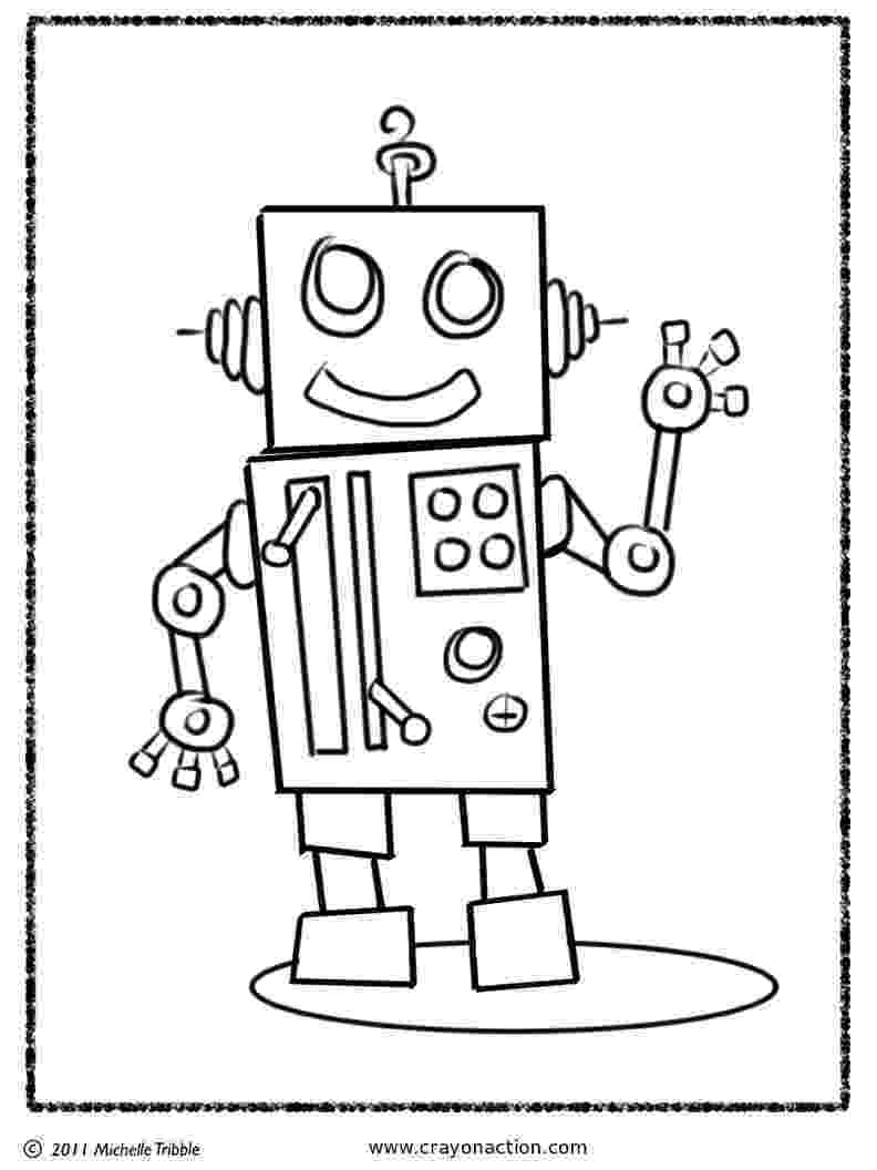 coloring page robot witty title coming soon october 2011 page coloring robot
