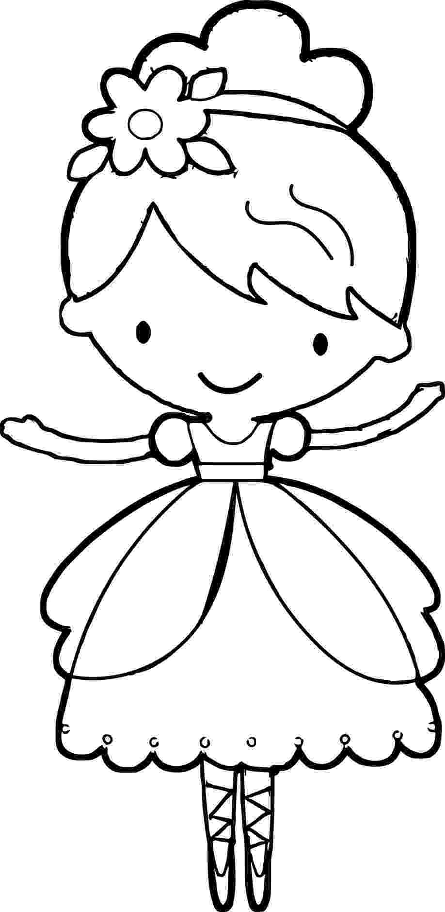 coloring pages ballerina ballerina shoes drawing at getdrawingscom free for ballerina pages coloring