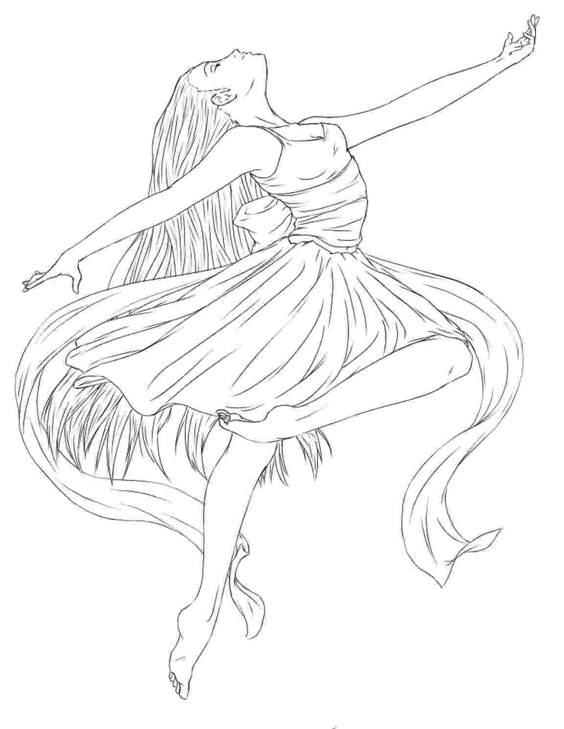 coloring pages ballerina printable ballet coloring pages for kids cool2bkids ballerina coloring pages