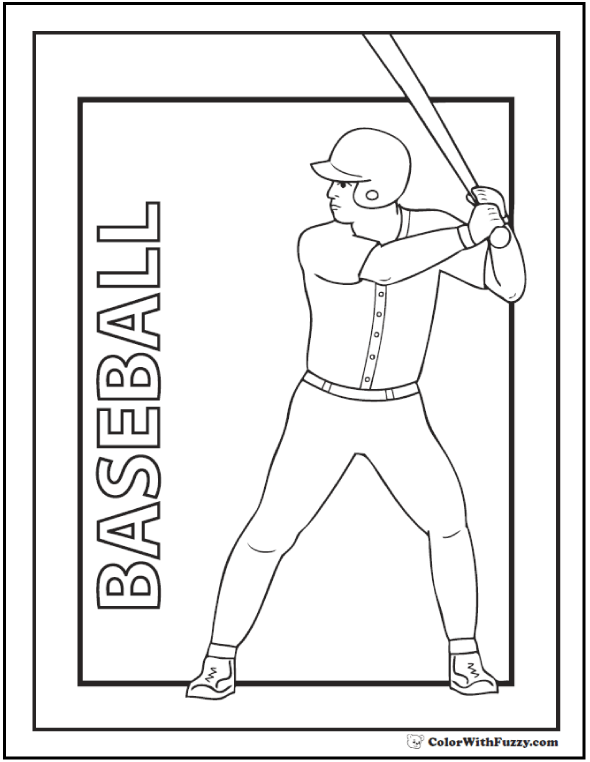 coloring pages baseball baseball coloring pages customize and print pdf coloring baseball pages