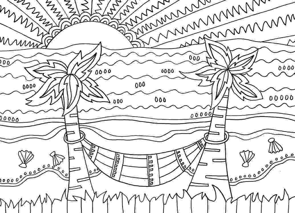 coloring pages beach scenes beach coloring pages beach scenes activities coloring scenes pages beach