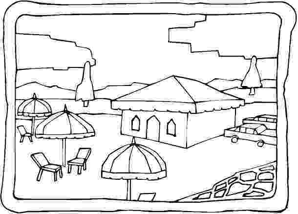 coloring pages beach scenes beach scene coloring page free printable coloring pages coloring scenes pages beach
