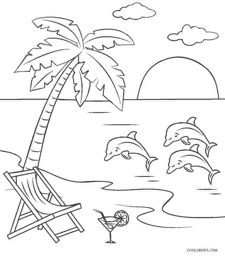 coloring pages beach scenes free printable beach coloring pages for kids cool2bkids scenes coloring beach pages
