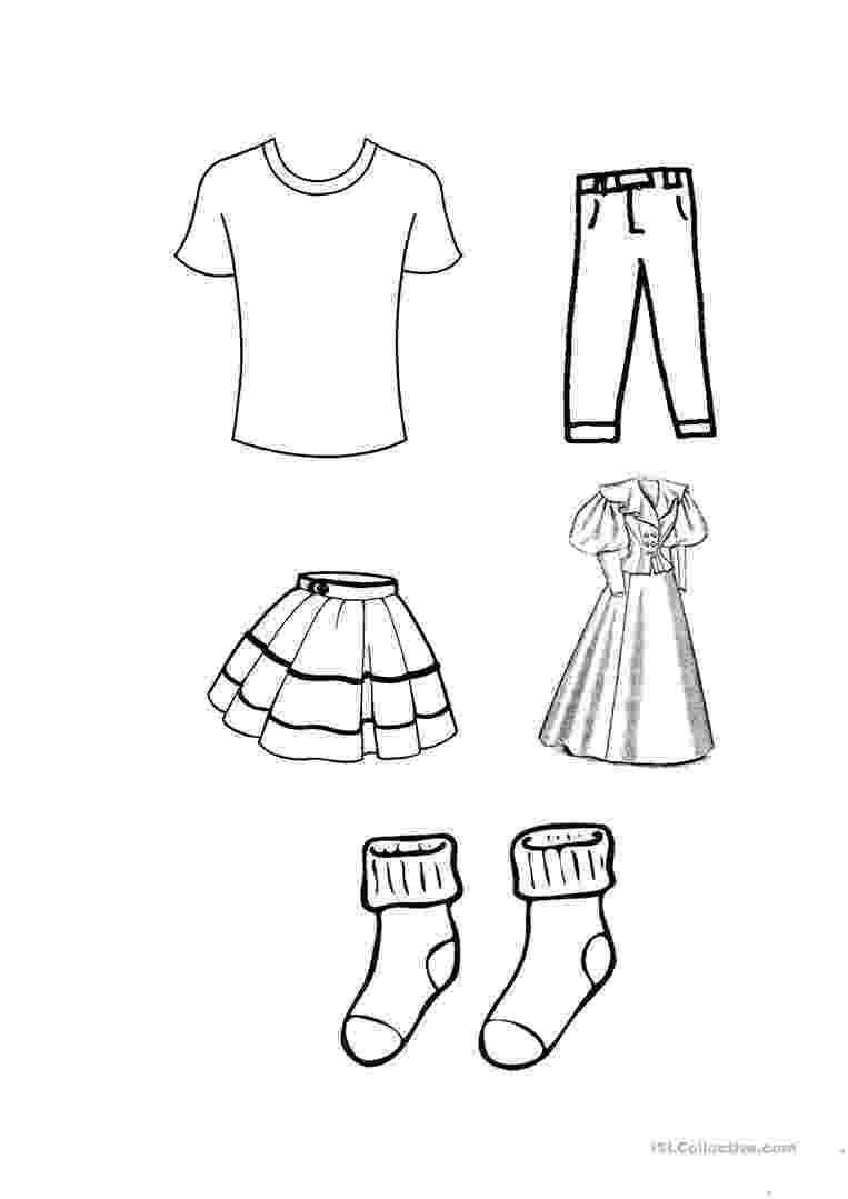 coloring pages clothes clothes colouring worksheet free esl printable pages coloring clothes