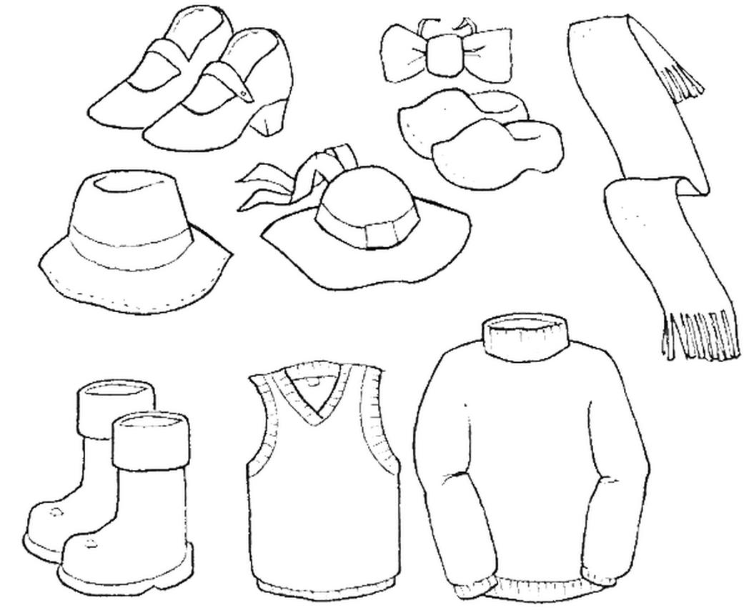 coloring pages clothes fichas de inglés ficha clothes 2 color the clothes coloring clothes pages