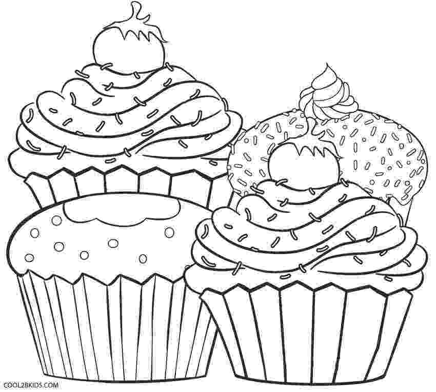 coloring pages cupcakes birthday cupcake coloring pages download and print for free pages cupcakes coloring