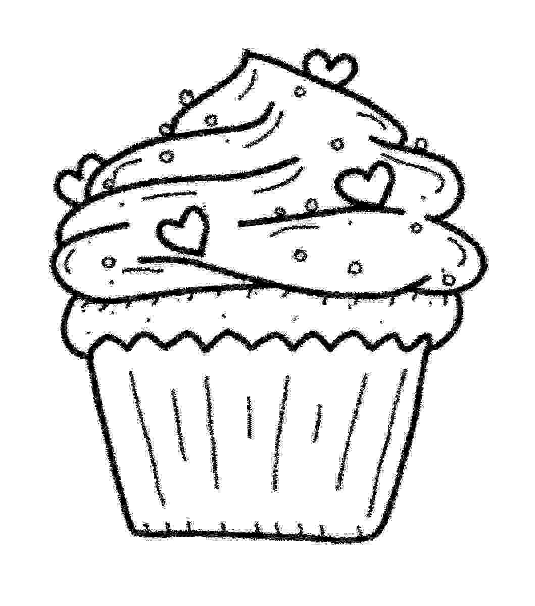 coloring pages cupcakes sweets coloring pages for childrens printable for free cupcakes coloring pages