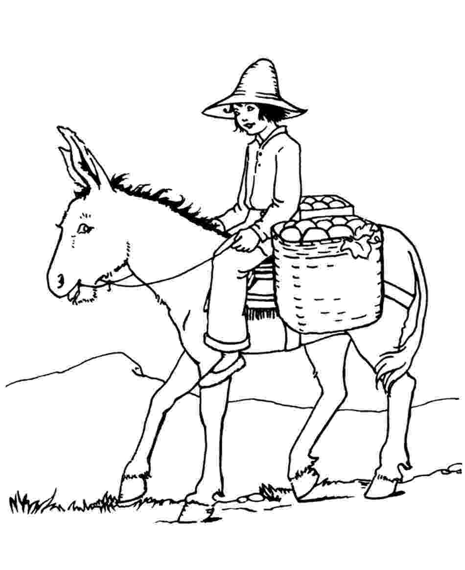 coloring pages donkey donkey coloring pages for kids preschool and kindergarten pages coloring donkey