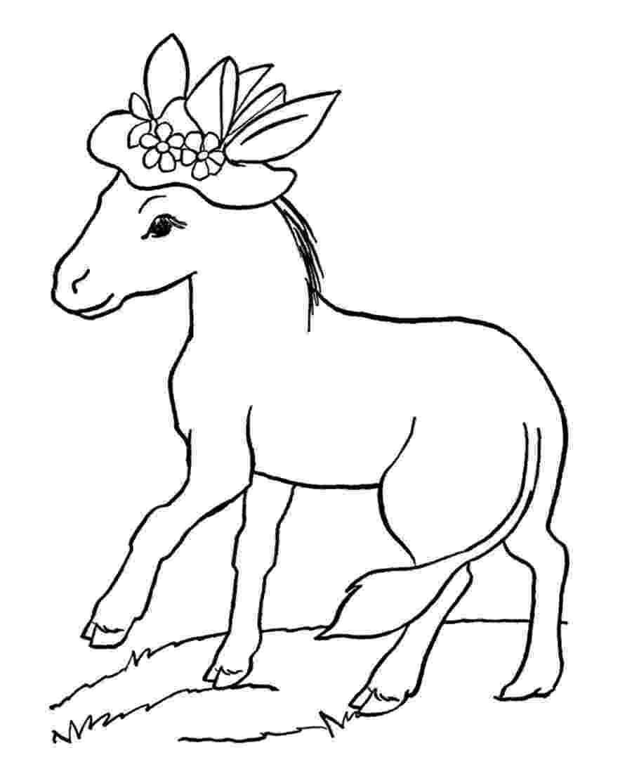 coloring pages donkey donkey coloring pages to download and print for free donkey pages coloring