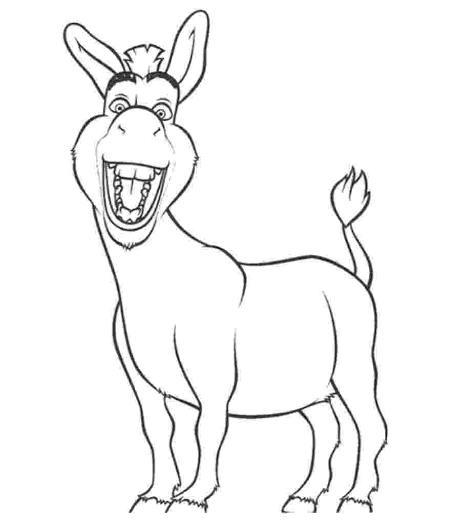 coloring pages donkey free coloring pages of donkey from shrek vbs church coloring donkey pages