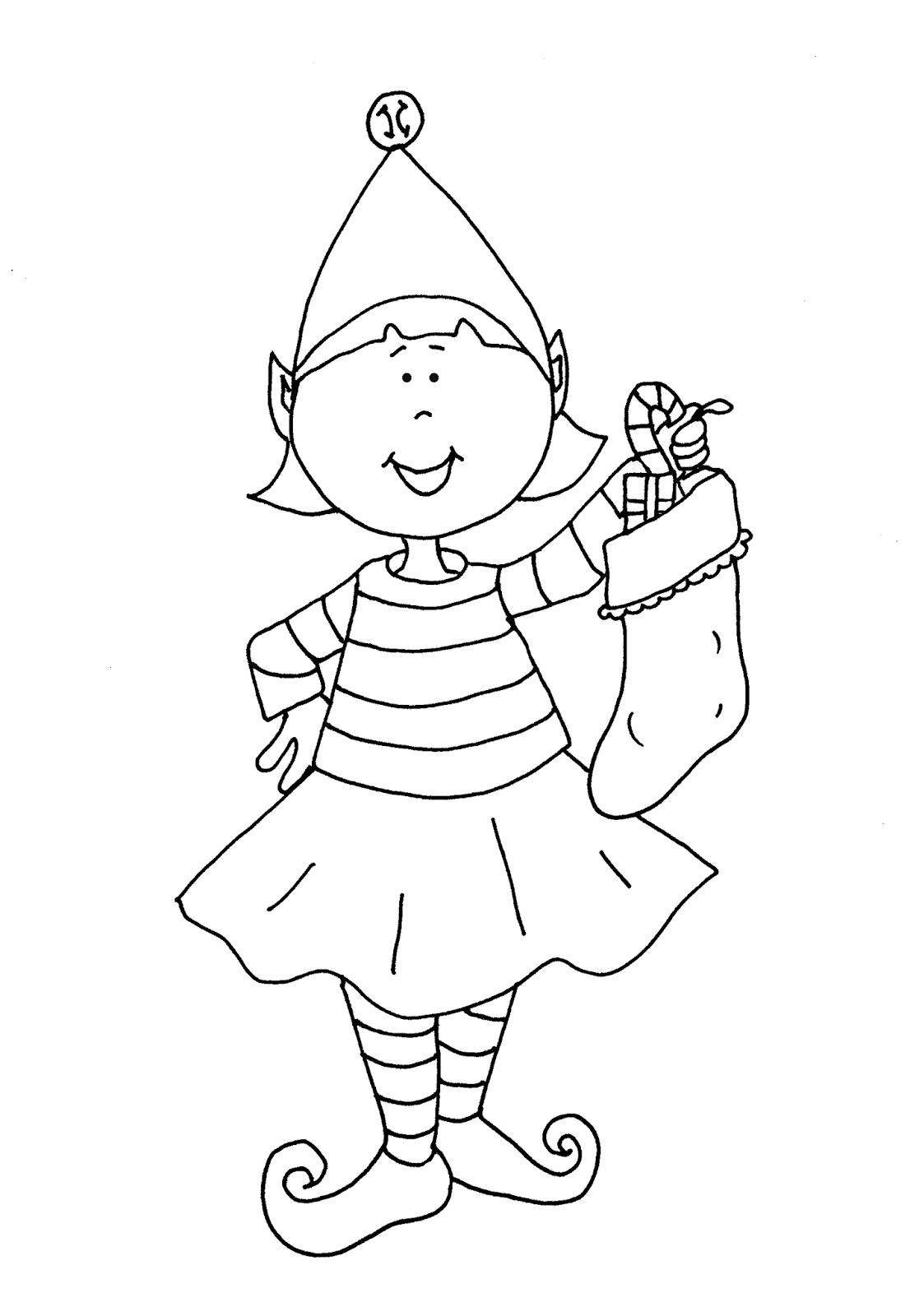 coloring pages elves christmas elf drawing at getdrawingscom free for elves pages coloring