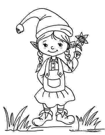 coloring pages elves elf coloring pages coloring pages elves