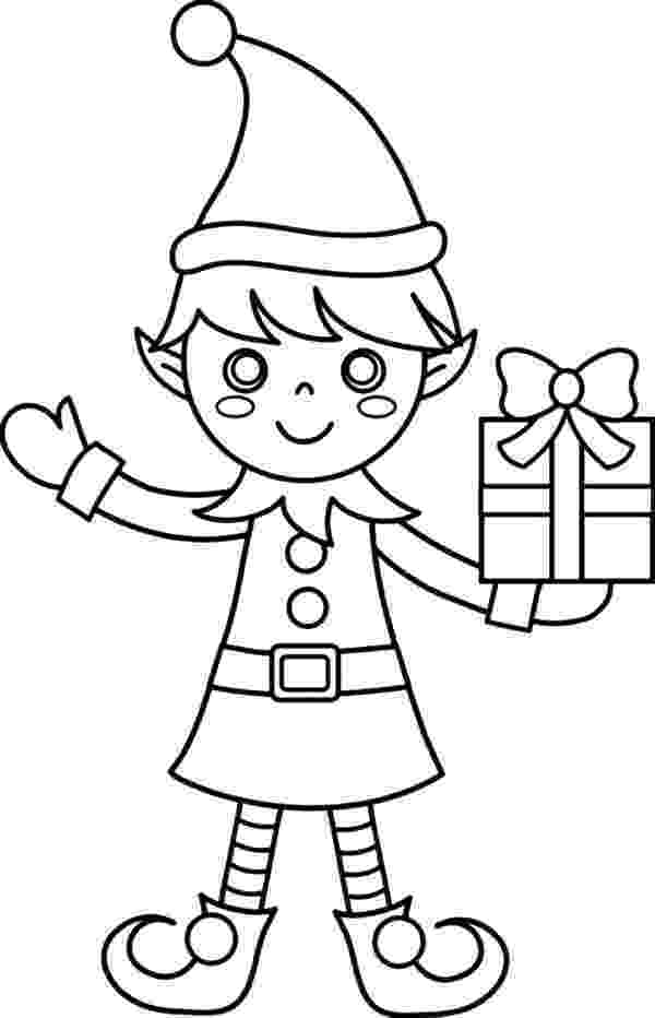 coloring pages elves elf coloring pages for kids coloring home pages elves coloring