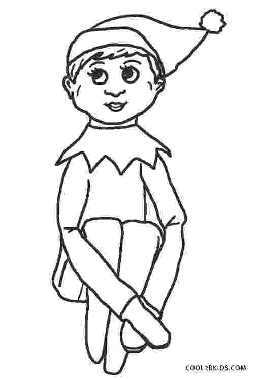 coloring pages elves free dearie dolls digi stamps elf girl pages elves coloring