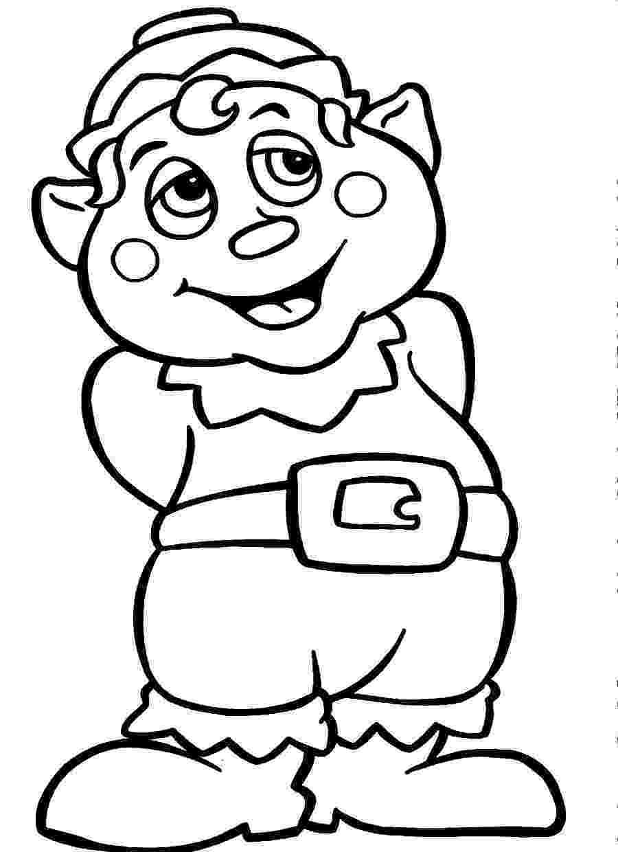 coloring pages elves free printable elf coloring pages for kids elves coloring pages 1 1