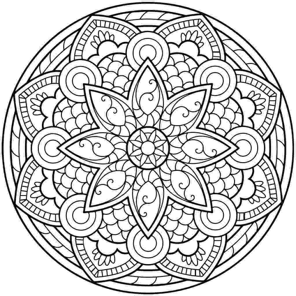coloring pages for adults mandala mandala printable adult coloring page from favoreads for coloring adults mandala pages