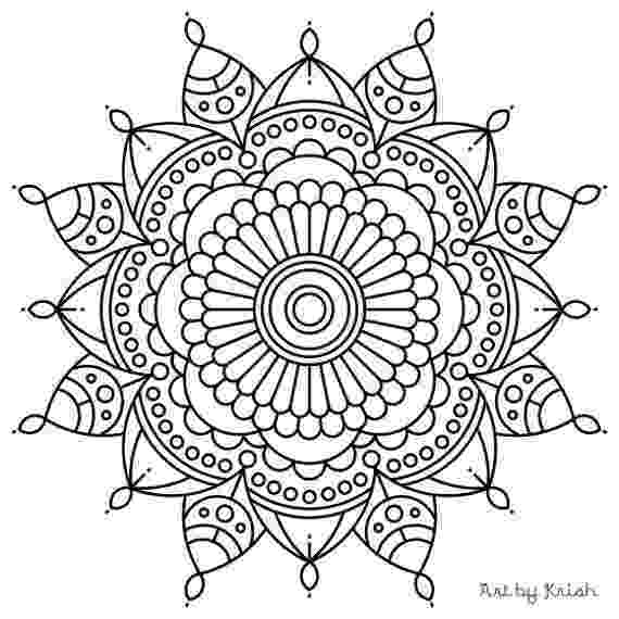 coloring pages for adults mandala opal palace mandala coloring page favecraftscom pages for mandala coloring adults