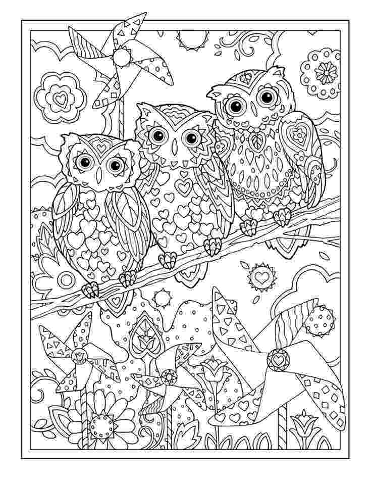 coloring pages for adults with owls 680 best coloring owls images on pinterest owls coloring for pages adults with