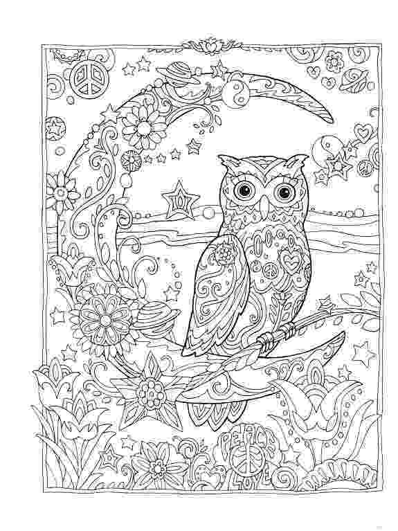 coloring pages for adults with owls owl coloring pages for adults free detailed owl coloring owls adults for coloring with pages