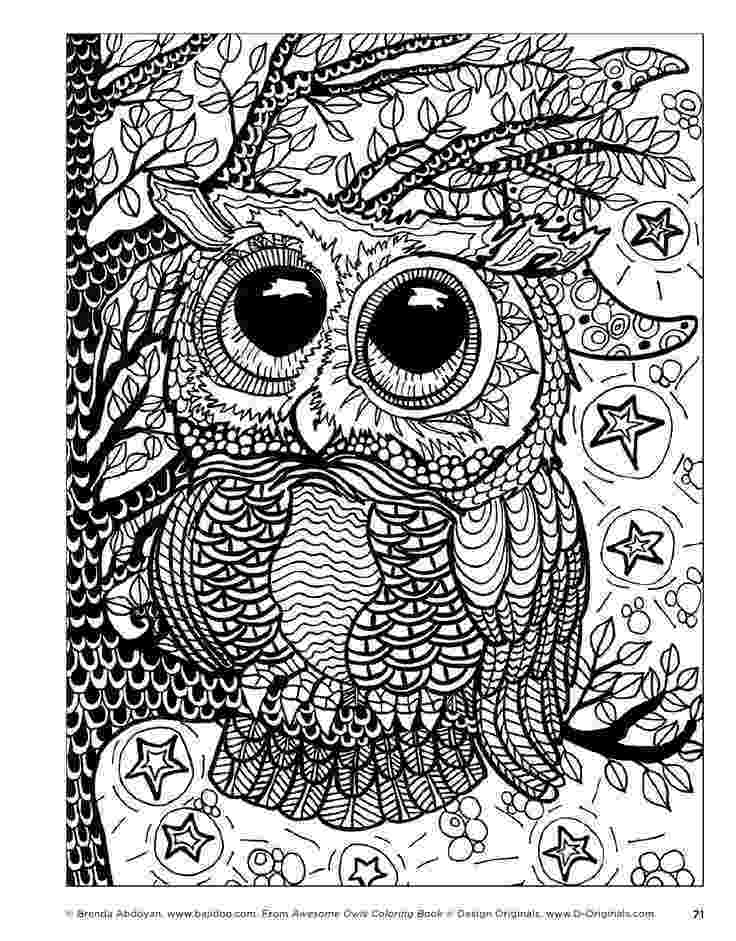 coloring pages for adults with owls pin by ann furnas on design patterns owl coloring pages owls for with adults coloring pages