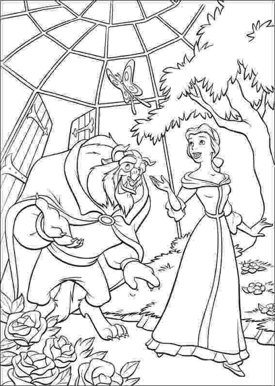 coloring pages for beauty and the beast free beauty and the beast coloring pages the pages for beauty and coloring beast