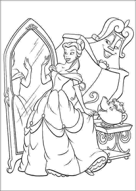 coloring pages for beauty and the beast free printable beauty and the beast coloring pages for kids coloring beast beauty for and the pages