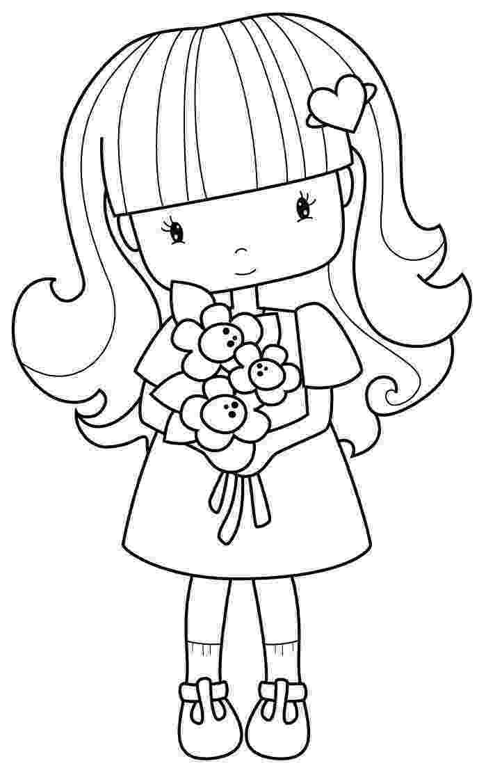 coloring pages for girls flowers daisy flowers vase printable adult coloring page floral etsy coloring girls for flowers pages