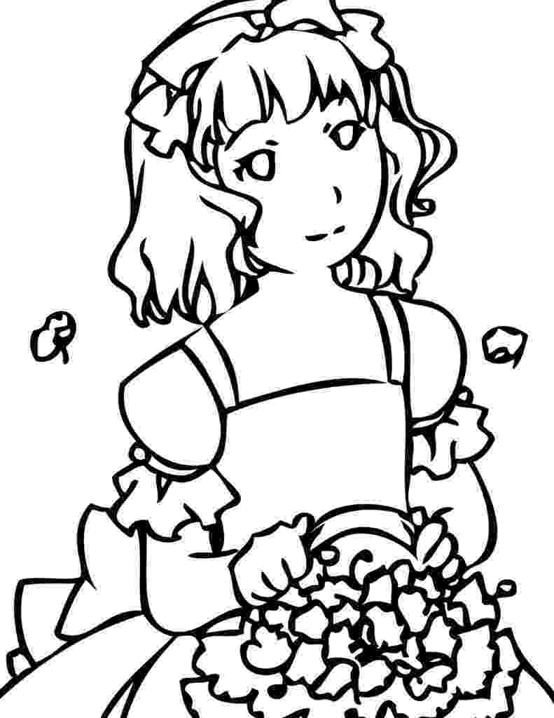 coloring pages for girls flowers top 47 free printable flowers coloring pages online for coloring girls pages flowers