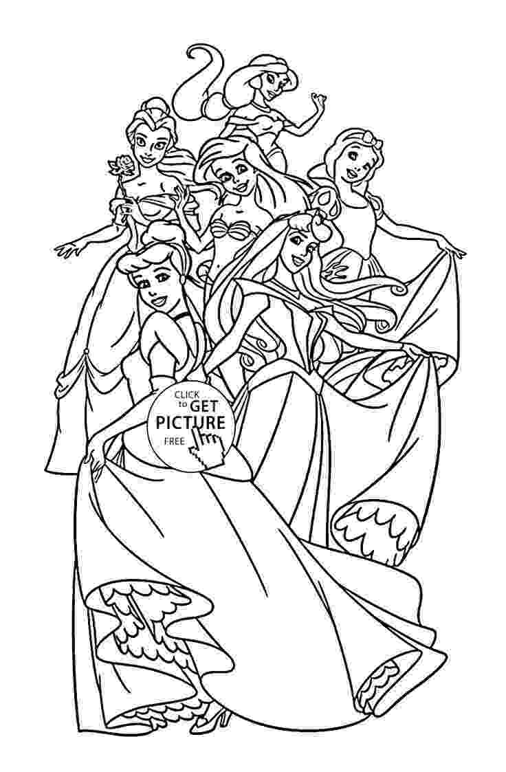 coloring pages for girls princess disney princess tiana coloring pages to girls princess coloring for pages girls